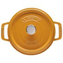 Staub La Cocotte 5.5-qt Round Cocotte - Saffron