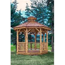 Montana Collection Gazebo - Exterior Finish