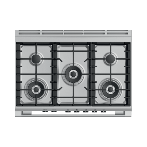 "Gas Range, 36"", 5 Burners"