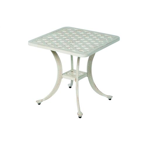 "Alfresco Home - Chateau 21"" Square Side Table"