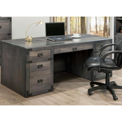 - Saratoga Executive Desk with Pencil drawer with flip down front
