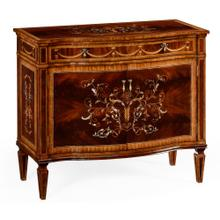 Small side cabinet with fine MOP & marquetry inlay