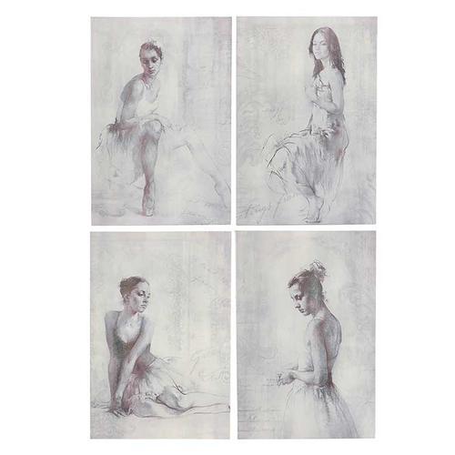 S/4 Ballerinas Wall Art