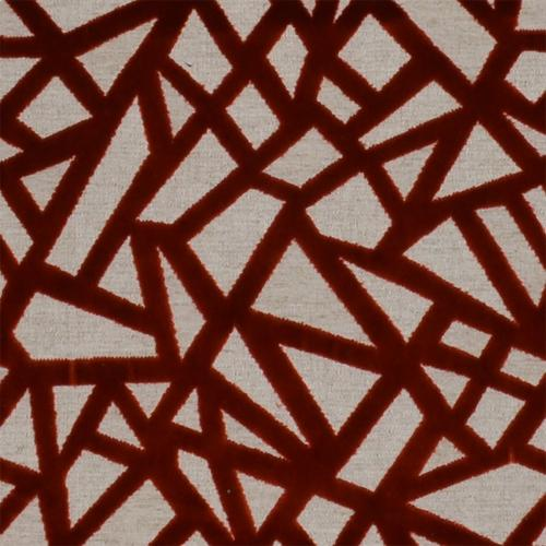 Cracked Red Fabric