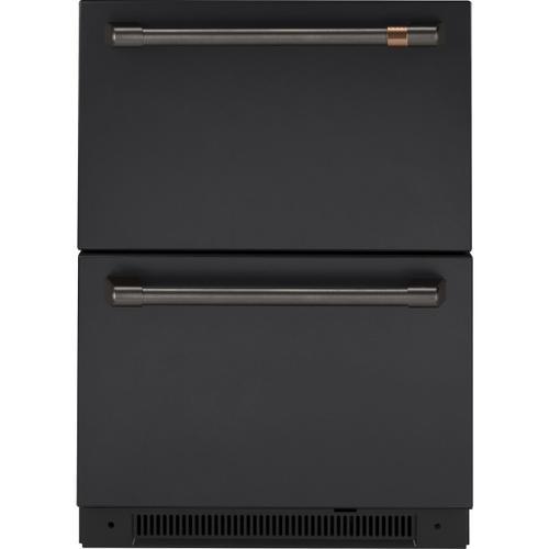 Cafe - Café™ Undercounter Refrigeration Handle Kit - Brushed Black