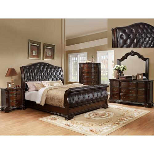 Sheffield Sleigh Bed Kq Rail