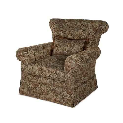 Tufted Club Chair