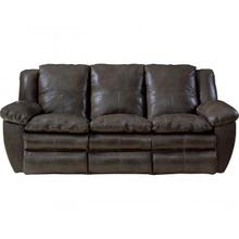 Power Lay Flat Reclining Sofa.  USA Made with Top Grain Italian Leather