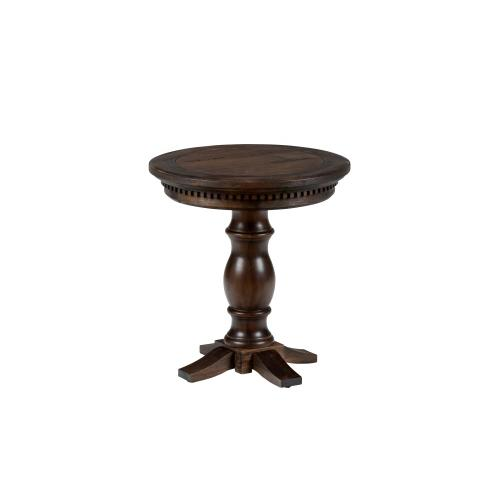 Geneva Hills Round Chairside Table- Top Only