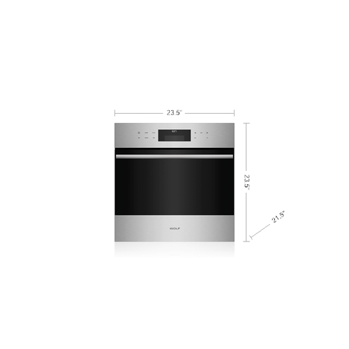 """Gallery - 24"""" E Series Transitional Built-In Single Oven  1 ONLY FLOOR DISPLAY"""