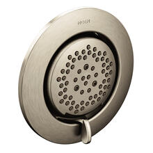 Mosaic Brushed nickel body spray