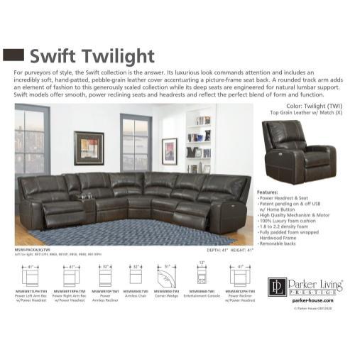 SWIFT - TWILIGHT Entertainment Console