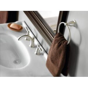 Brantford brushed nickel towel ring