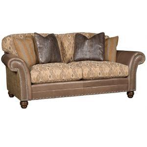 Katherine Leather/Fabric Sofa