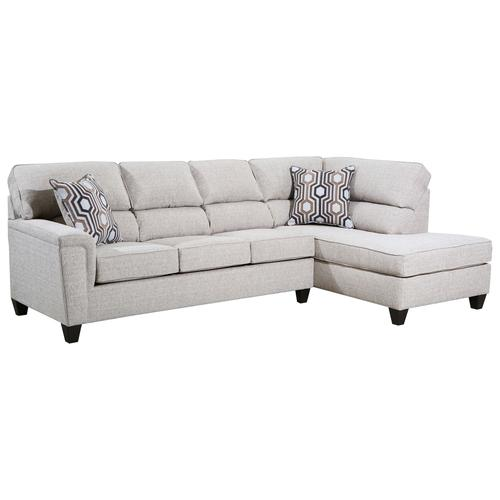 Lane Home Furnishings - 2015 Madelyn Two Piece Sectional with Chaise
