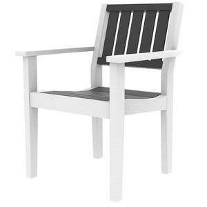 Seaside Casual - Greenwich Dining Arm Chair Slatted Back Style (602s)