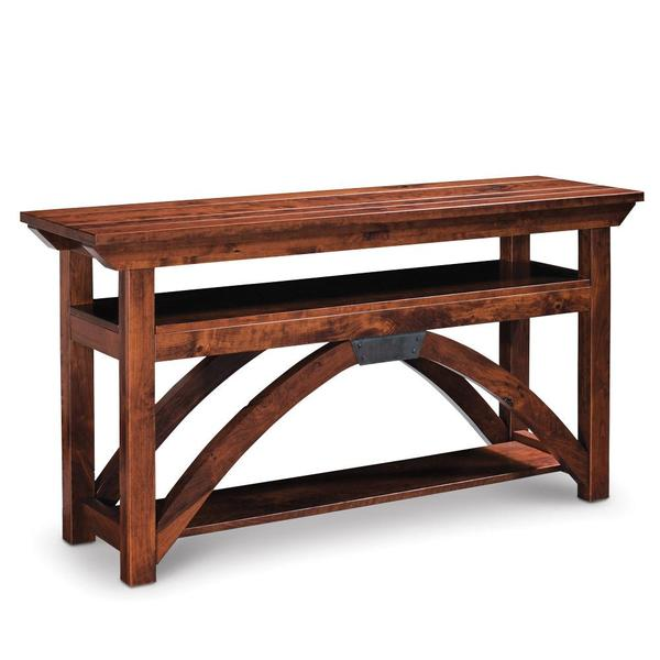 See Details - B&O Railroad Trestle Bridge Open TV Stand, Large - Express