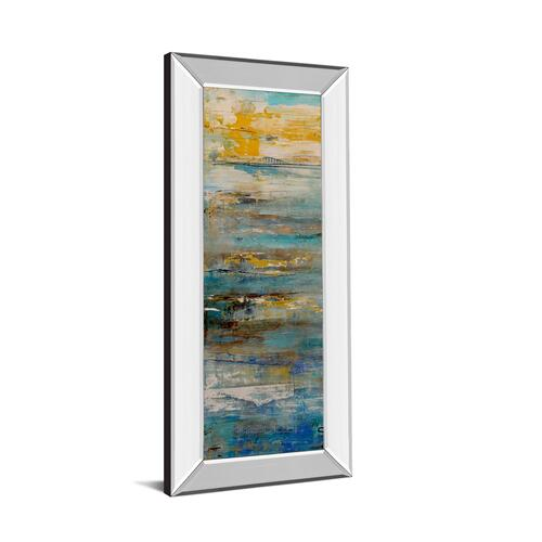 """Beyond The Sea I"" By Erin Ashley Mirror Framed Print Wall Art"
