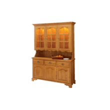 Brookville Hutch Four Full Length Doors