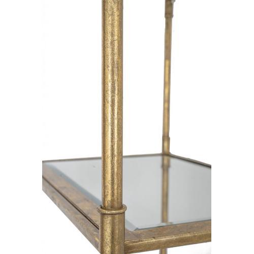 A & B Home - Perisa Mirror Shelf