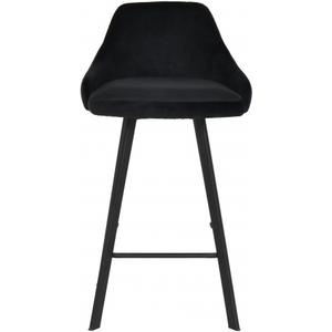 "Viviene Velvet Counter Stool - 19"" W x 18.5"" D x 34"" H"