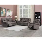 Bogata 3 Piece Manual Motion Set (Sofa, Loveseat & Chair)