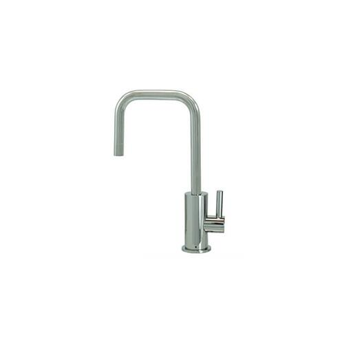 Mountain Plumbing - Point-of-Use Drinking Faucet with Contemporary Round Body & Handle (90° Spout) - Antique Copper