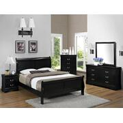 Louis Philip Night Stand Black Product Image