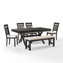 HAYDEN 6PC DINING SET