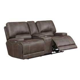 Highland Power Reclining Loveseat, Truffle U8058-21-05