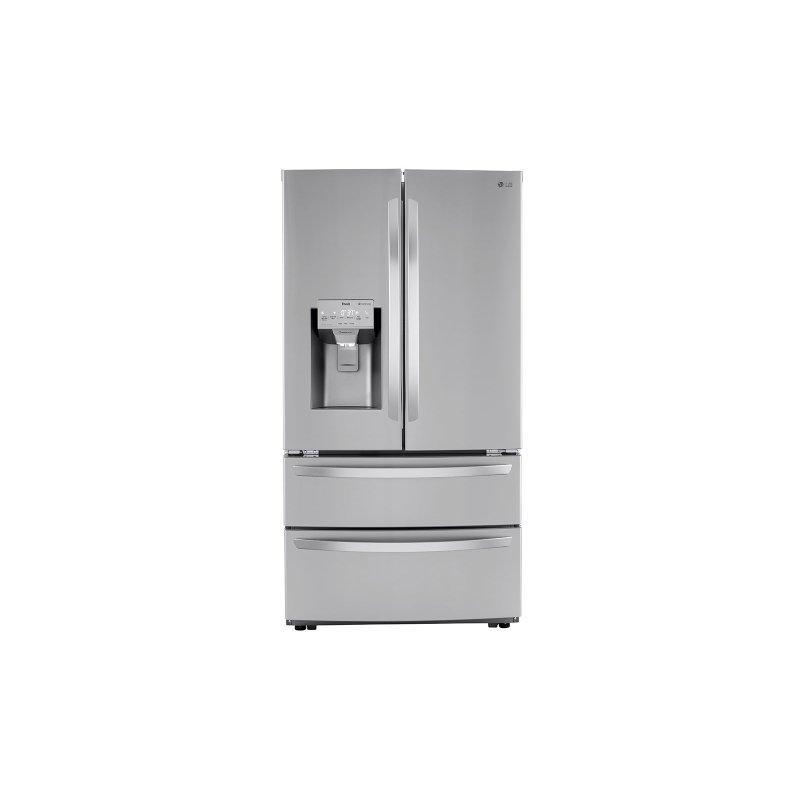 28 cu ft. Smart Double Freezer Refrigerator with Craft Ice™