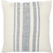 """View Product - Linen Stripe Buttoned LNB-003 13""""H x 20""""W"""