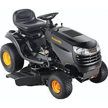 "18.5 hp Briggs & Stratton, 42"" stamped steel deck"
