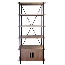 See Details - Boathouse Metal Bookcase