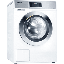 Professional washer-extractor, electrically heated, with drain pump and programs specific to the target group. Capacity 18 (8.0) lb (kg) lb. (kg) in 49 min minutes.