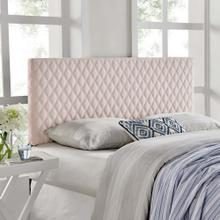 View Product - Angela Twin Performance Velvet Headboard in Pink