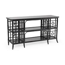 Alexa Sofa Table - Black