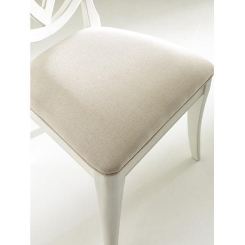 Oval Back Side Chair - Sea Salt