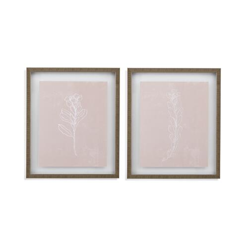 Blush Blooms 2 pc