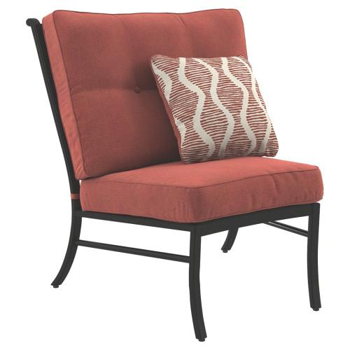 Burnella Armless Chair With Cushion