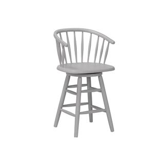 "24"" Bucket Swivel Barstool"