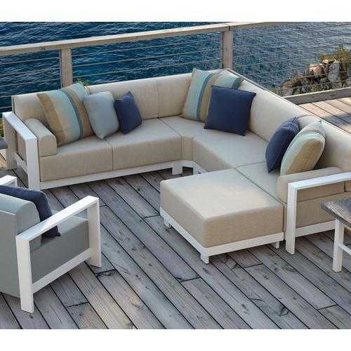 Armless Chat Chair - Cushion