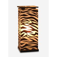 (LS) Maha Pedestal Lamp (M) (13x13x31)