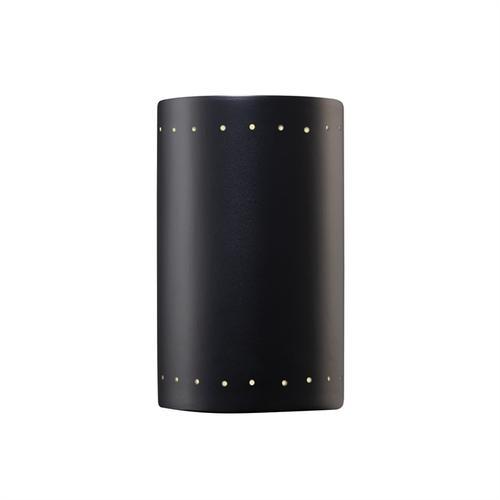 Small ADA Cylinder w/ Perfs - Closed Top