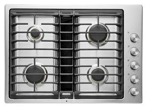 """Euro-Style 30"""" JX3™ Gas Downdraft Cooktop"""