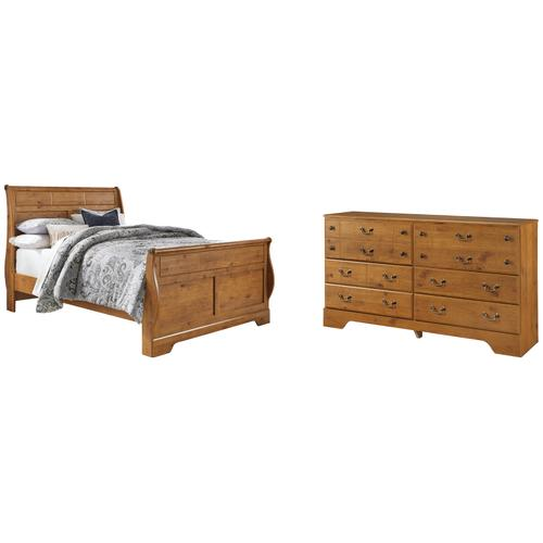 Ashley - Queen Sleigh Bed With Dresser