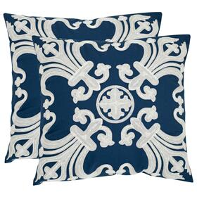 Collette Pillow - Navy / Blue