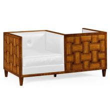 See Details - Cosmo Transitional Loveseat, Upholstered in COM