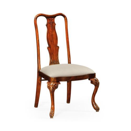 Mahogany dining side chair (MAZO)