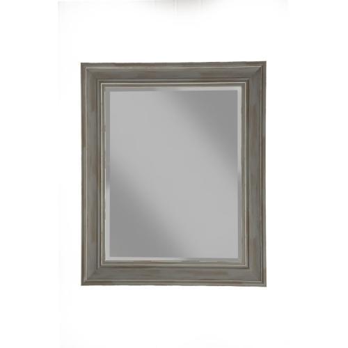Antique Grey Farmhouse Wall Mirror - Antique Grey